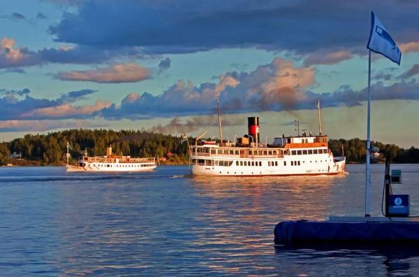 Круиз на пароме Финляндия — Швеция