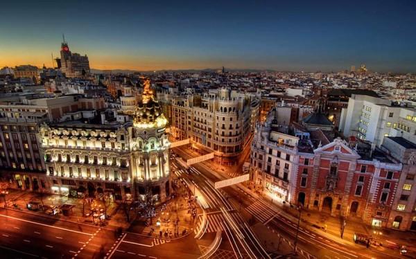 Крупные города Испании