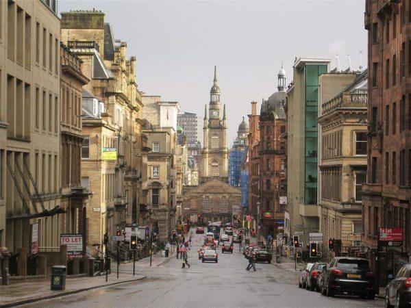 Крупные города Шотландии