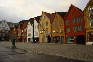 Берген - царство фьордов
