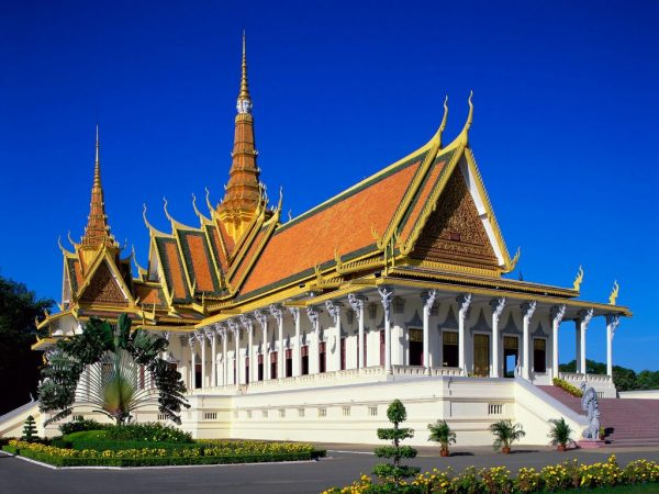 Камбоджа зимой